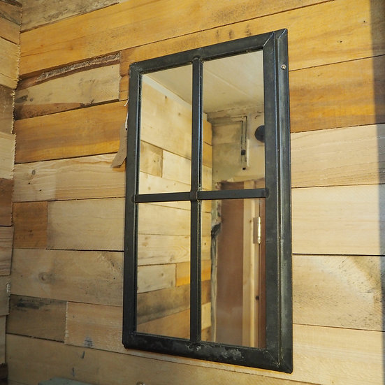 Upcycled 4 Pane Window Mirror