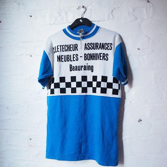 X Letecheur Assurances Belgian Cycling Jersey
