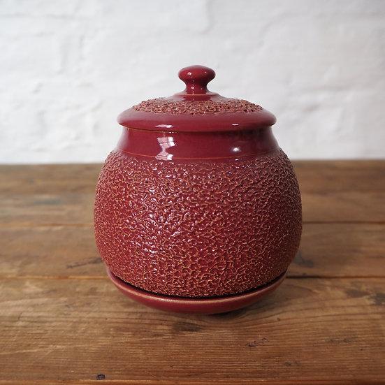Rare Series Lidded Pot and Dish