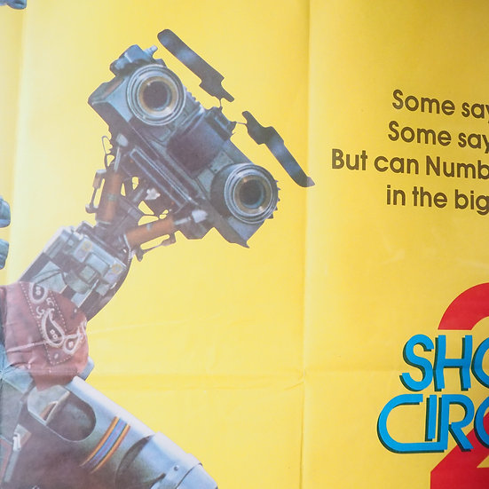 Short Circuit 2 Classic 80s Movie Film Poster Framed