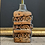 Thumbnail: Mid Century Bernard Rooke Brutalist Studio Pottery Rectangular Stripes Lamp Work