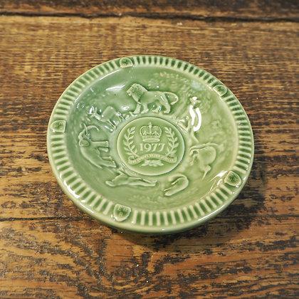 Wade 1977 Silver Jubilee Pin Dish