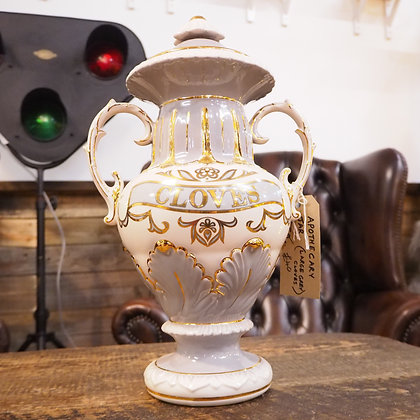 Ceramic 'Cloves' Apothecary Vase Urn Storage Jar