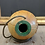 Thumbnail: Mid Century Bernard Rooke Brutalist Spherical Studio Pottery Lamp Working