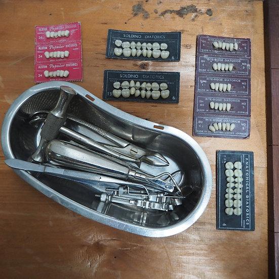 Set of Dentistry Equipment & Teeth
