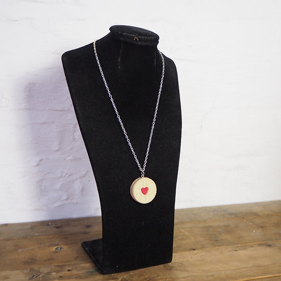 Handmade Jammy Dodger Necklace