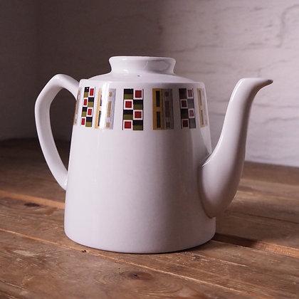 1950s Alfred Meakin Geometric Ceramic Teapot