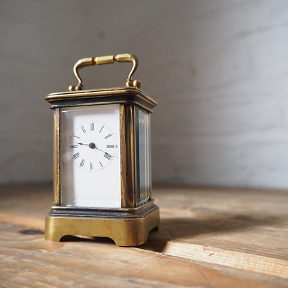 Antique Miniature French Carriage Clock. Circa 1910.
