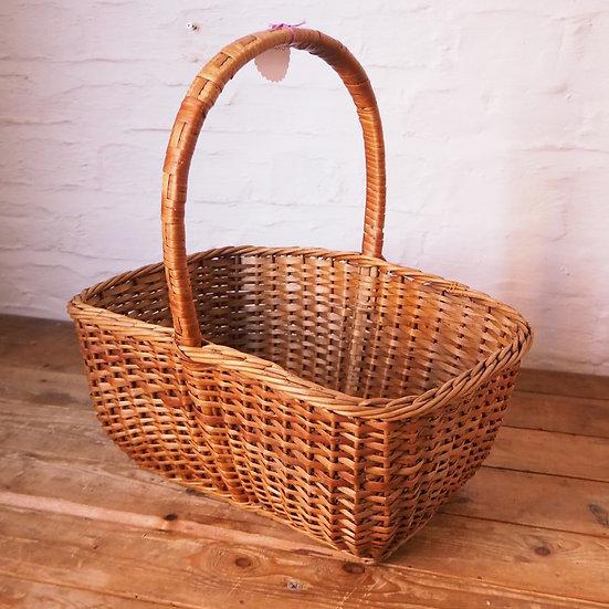Woven Wicker Cane Bag Shopping Basket