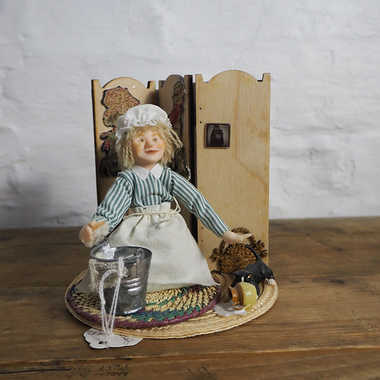 """Spilt Milk"" Doll Figurine"