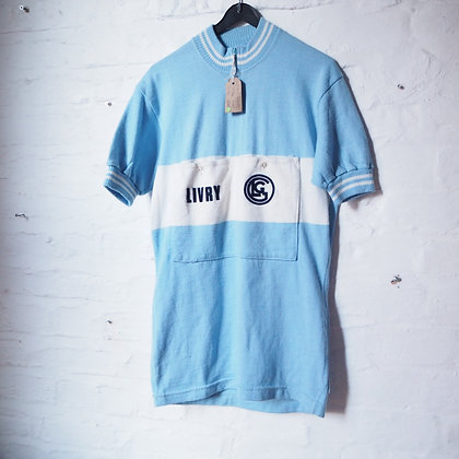 Livry French Vintage Wool Cycling Jersey