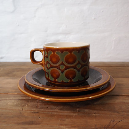 Hornsea Cup, Saucer and Plate