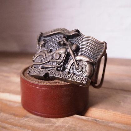 Harley Davidson Belt & Buckle