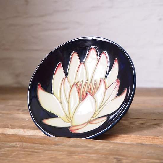 Moorcroft Signed Small Floral Dish