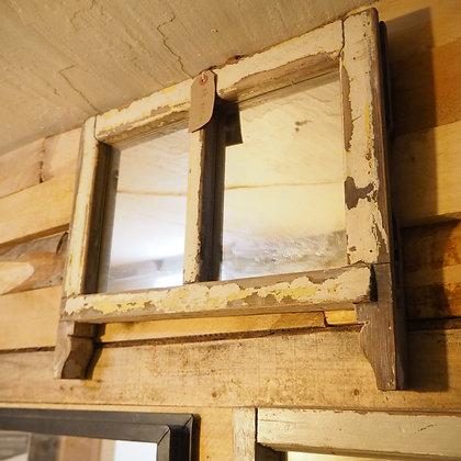 Upcycled 2 Pane Window Mirror