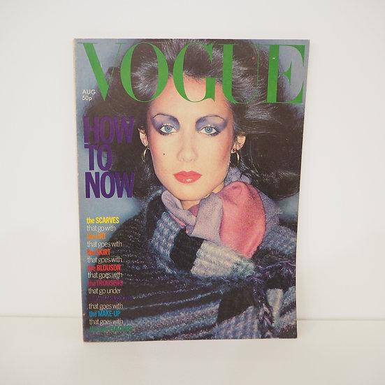 Vintage Vogue Magazine August 1976