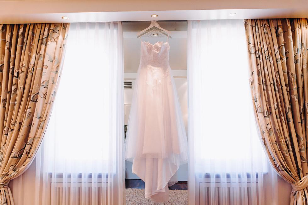 Brautkleid Hochzeitskleid Getting Ready Europäischer Hof in Heidelberg