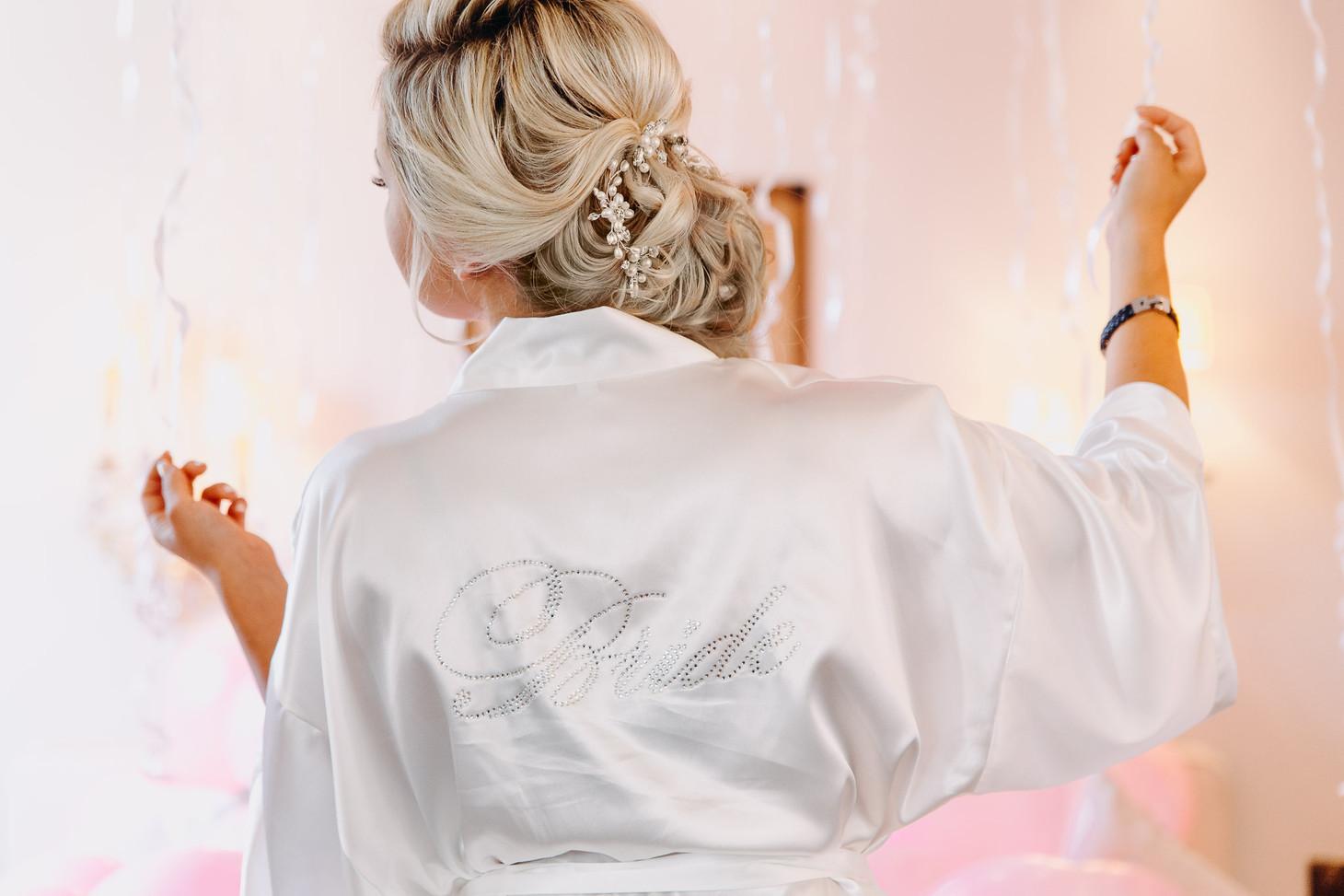 Brautfrisur Bride Getting Ready Hochzeitsfotograf Heidelberg