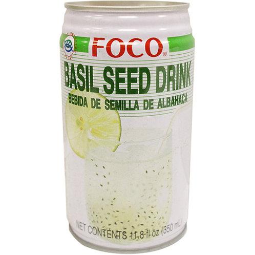Foco Basil Seed Drink 24/500ml