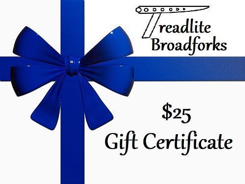 Treadlite Gift Certificate