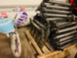 treadlite broadfork - in the workshop.JP