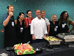 Chef with Group - buffet.JPG