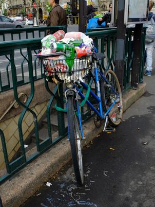 Nouvelles poubelles parisiennes
