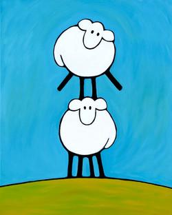 Sheep Stacked