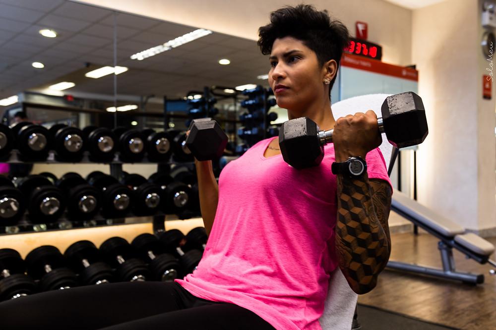 Bíceps, musculaçãi, treino certo, hipertrofia, descanso, emagrecimento