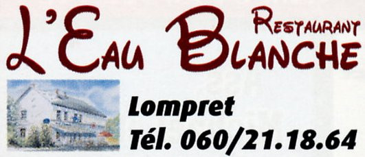 Restaurant l'Eau Blanche