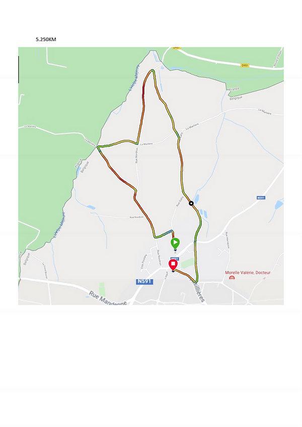 parcours 5 km armistice