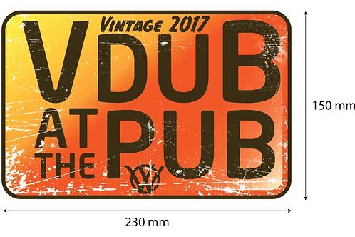 Jumbo Sticker - 2017