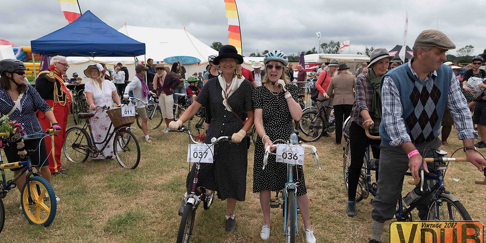 Vintage Cycle Ride Bookings  2019