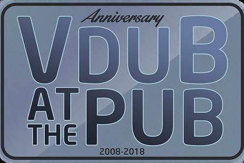 2018 Anniversary Sticker