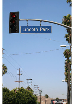 Street sign Lincoln Park