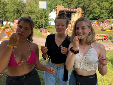DKMS Aktion beim Sound of the Forest Festival