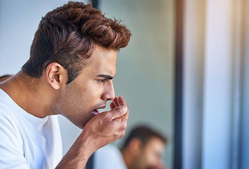 What should I do if I have bad breath?