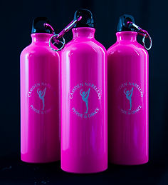 Aluminium engraved drink bottles