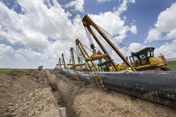 Pipeline Construction Site