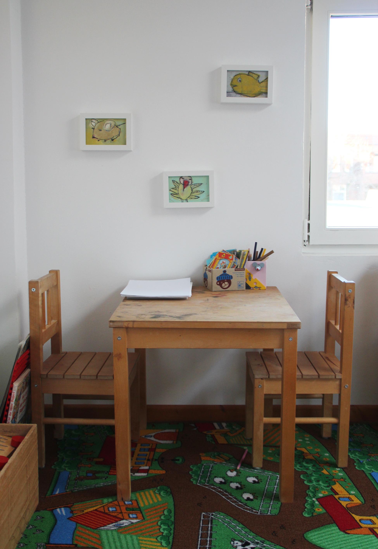 Kinderecke im Praxisraum