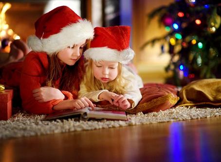 Momentos lectores en Navidad.