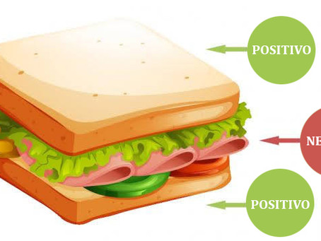 La técnica del sándwich: Comunicación asertiva.