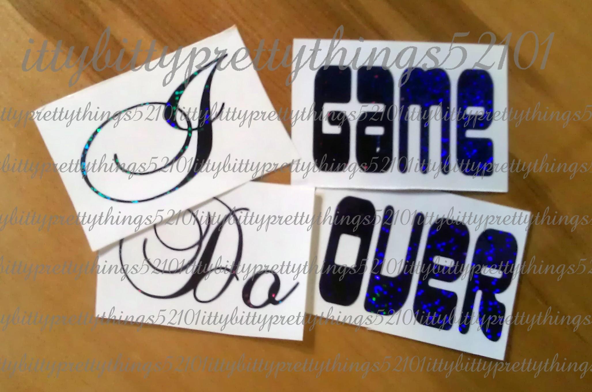 Wedding Shoe Stickers
