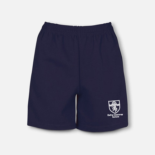 Beths rugby shorts including pupils embroidered name