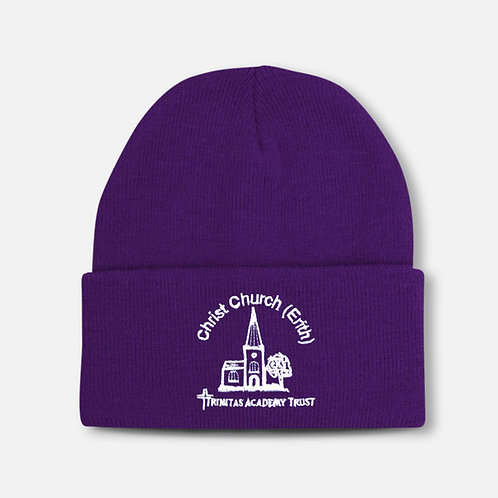 Christ Church winter hat