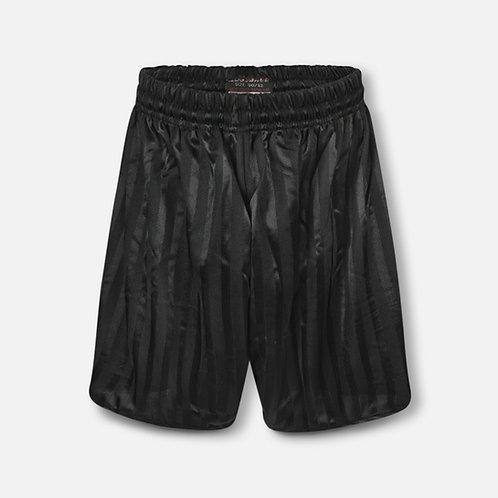 Black shadow stripe P.E. shorts