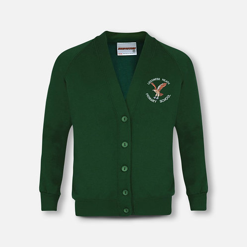 Lessness Heath sweatshirt cardigan