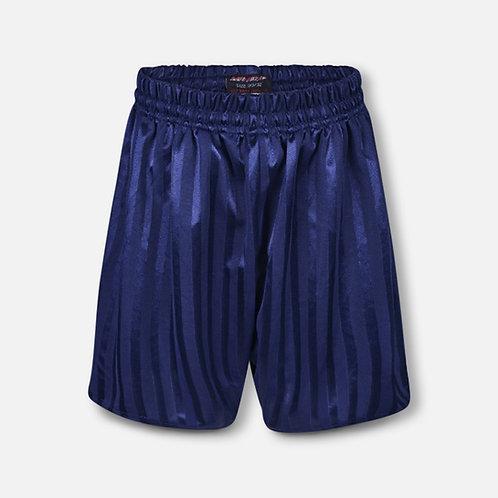 Navy shadow stripe P.E. shorts