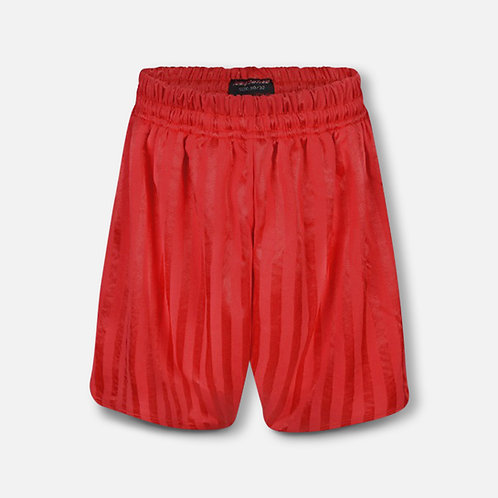 Red shadow stripe P.E. shorts