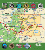 Trail Central Map and Pin Collection